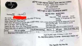 Bất ngờ kết quả xét nghiệm lại của nam thanh niên nghi mắc Covid-19 ở Hà Nội