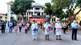Lần đầu tiên, 90 bệnh nhân Covid-19 được công bố khỏi bệnh tại TP Chí Linh