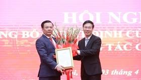 Tân Bí thư Thành ủy Hà Nội Đinh Tiến Dũng: Nỗ lực hết mình để hoàn thành nhiệm vụ