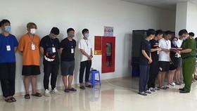 Hàng chục người Trung Quốc nhập cảnh trái phép thuê chung cư ở Hà Nội