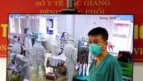 Điều gấp máy phát điện và lắp điều hòa tại Bệnh viện Phổi tỉnh Bắc Giang