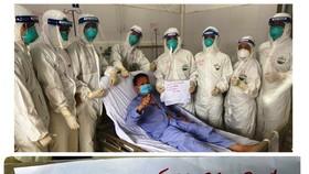 Bệnh nhân Covid-19 nặng tại Bắc Giang đã được cai máy thở sau 12 ngày điều trị