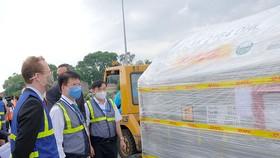 Hơn 97.000 liều vaccine Covid-19 của Pfizer/BioNtech đã tới Việt Nam