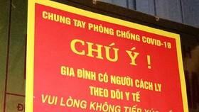 Hà Nội bỏ treo biển trước nhà người về từ TPHCM