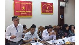 Sở Lao động Thương binh và Xã hội TPHCM trao đổi với đoàn công tác của UBND TPHCM