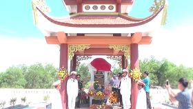 Khánh thành di tích Khu tưởng niệm liệt sĩ Tiểu đoàn 814