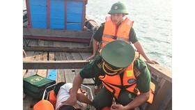 Sơ cứu ban đầu cho thuyền viên gặp nạn trên biển