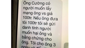 Chánh Văn phòng Đoàn ĐBQH tỉnh Quảng Trị bị nhắn tin đe dọa tống tiền