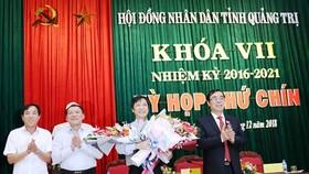 Ông Hoàng Nam làm Phó Chủ tịch UBND tỉnh Quảng Trị