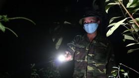 BĐBP tuần tra 24/24 giờ nhằm kịp thời phát hiện các đối tượng vượt biên trốn cách ly tại bên giới Việt Nam- Lào.