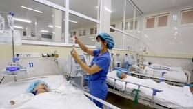Điều trị cho các bệnh nhân tại Trung tâm Đột quỵ của Bệnh viện Trung ương Huế