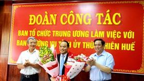 Ban Bí thư chuẩn y đồng chí Nguyễn Quốc Đoàn làm Phó Bí thư Tỉnh ủy Thừa Thiên – Huế