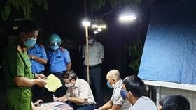 3 tài xế gian dối trong việc khai báo lịch trình đã được đưa đi cách ly theo quy định 