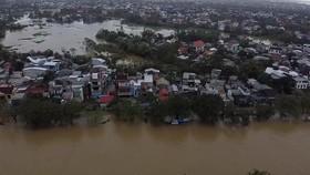 TP Huế bị ngập lụt