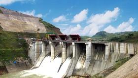Đập dâng công trình thủy điện A Lưới