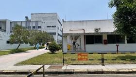 Khu vực tiếp nhận và điều trị cho bệnh nhân mắc Covid-19 tại Bệnh viên Trung ương Huế cơ sở 2