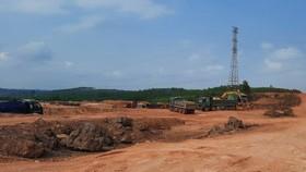 Khai thác đất tại Thừa Thiên - Huế