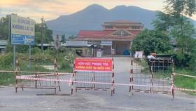 Phong tỏa chợ Lộc Thủy, xã Lộc Thủy, huyện Phú Lộc, tỉnh Thừa Thiên - Huế