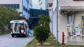 Cả 5 bệnh nhân mắc Covid-19 tại xã Lộc Thủy đang được điều trị tại khu cách ly đặc biệt Bệnh viện Trung ương Huế cơ sở 2. 