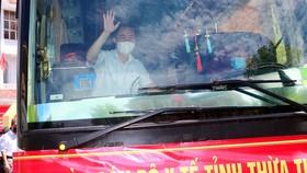 Đoàn y, bác sĩ tỉnh Thừa Thiên - Huế lên đường vào Bình Dương hỗ trợ công tác phòng chống dịch Covid-19