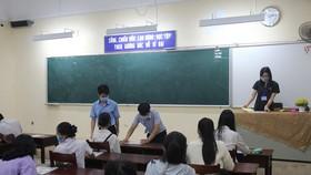 Thí sinh Thừa Thiên - Huế tham dự kỳ thi tốt nghiệp THPT năm 2021