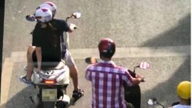 Đối tượng nhảy tàu hàng trốn cách ly được bạn gái dùng xe máy đến đón, chở về nhà tại Huế