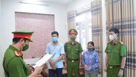 Bị can Nguyễn Thị Hồng