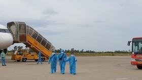 Thừa Thiên-Huế đón công dân từ TPHCM về quê bằng máy bay