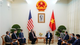 Thủ tướng Nguyễn Xuân Phúc tiếp Ngoại trưởng Hoa Kỳ Mike Pompeo