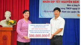 Chủ tịch HĐND TPHCM Nguyễn Thị Quyết Tâm thăm, tặng quà Tết đồng bào nghèo Tây Ninh