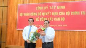 Ông Phạm Viết Thanh giữ chức Bí Thư Tỉnh ủy Tây Ninh