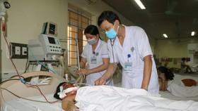 Bệnh nhân S. đã qua cơn nguy kịch và đang được điều trị, theo dõi tại Bệnh viện Đa khoa tỉnh Hà Tĩnh