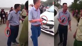 Vụ rút súng đe dọa sau tai nạn ở Hà Tĩnh: Phạt tài xế 38 triệu đồng