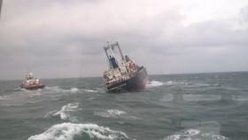 Tàu hàng bị sự cố trên biển Vũng Áng
