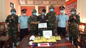 Đối tượng Trần Thanh Trì bị bắt giữ cùng tang vật ma túy