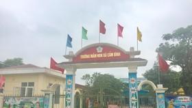 Khu cách ly Trường Mầm non xã Cẩm Bình, huyện Cẩm Xuyên