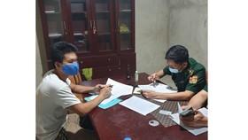 Lực lượng Bộ đội Biên phòng Hà Tĩnh làm rõ hành vi của Đ.Q.T.