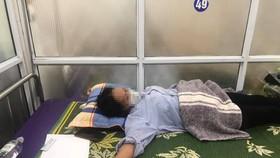Bệnh nhân bị ngộ độc được điều trị kịp thời tại bệnh viện