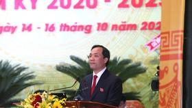 Đồng chí Hoàng Trung Dũng được bầu giữ chức Bí thư Tỉnh ủy Hà Tĩnh khóa XIX nhiệm kỳ 2020 - 2025