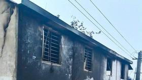 Ngôi nhà xảy ra vụ cháy