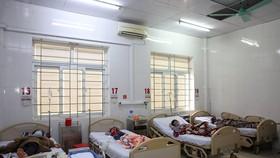 Các bệnh nhân được theo dõi và điều trị tại Bệnh viện Đa khoa tỉnh Hà Tĩnh