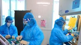 Xét nghiệm virus SARS-CoV-2 tại CDC Hà Tĩnh