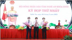 Bí thư Tỉnh ủy Nghệ An Thái Thanh Quý được bầu giữ chức Chủ tịch HĐND tỉnh