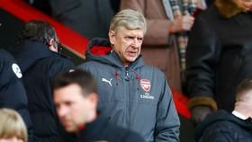 HLV Arsene Wenger và Arsenal đã có chiến thắng đầu tiên trong năm mới. Ảnh: Getty Images