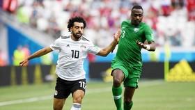 Salah ghi bàn, nhưng Ai Cập vẫn thua. Ảnh FIFA.