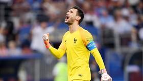 Chiến thắng trước Argentina là bàn đạp đưa Lloris cùng tuyển Pháp đến chức vô địch. Ảnh: Getty Images
