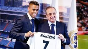Mariano được trao chiếc áo số 7. Ảnh AS.