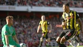 Bernd Leno đã có những pha cản phá tốt trong lần ra mắt Premier League. Ảnh: Getty Images