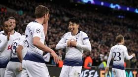 Tottenham đã gần như đặt 1 chân vào tứ kết. Ảnh: Getty Images