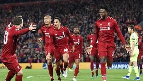 Liverpool đã làm nên một trong những màn ngược dòng khó tin nhất lịch sử. Ảnh: Daily Mail